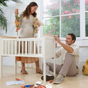 Baby Time- 5 Ways to Make Room in the Nursery
