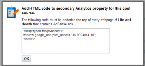 html_code_for_secondary_profile_adsense_analytics_integration