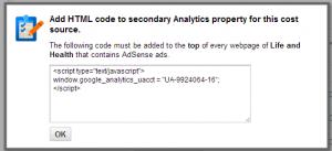 html_code_for_secondary_profile_adsense_analytics_integration