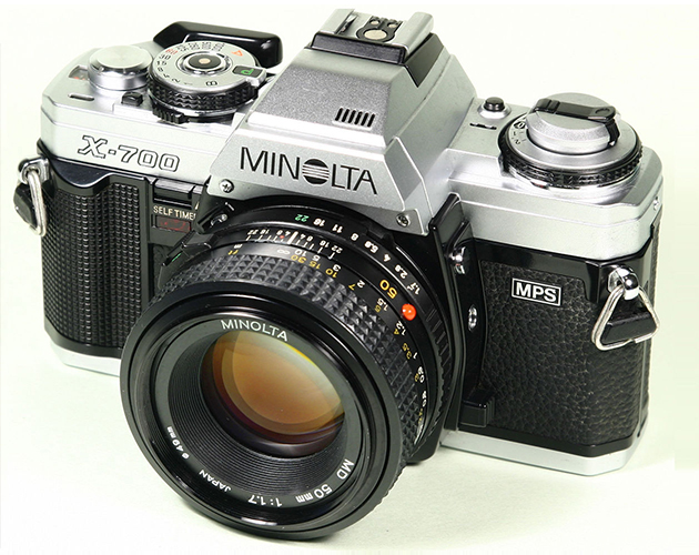 an old SLR camera