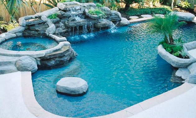 awesome swimming pool - Cool Backyard Swimming Pools