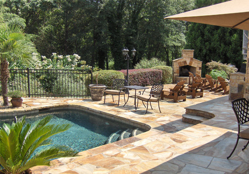 How to save on backyard renovations - Patios con piscina ...