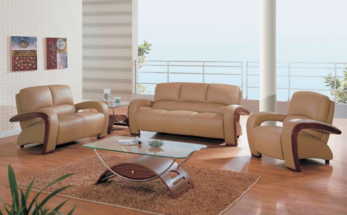 leather furniture living room