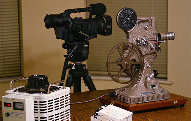 old projector