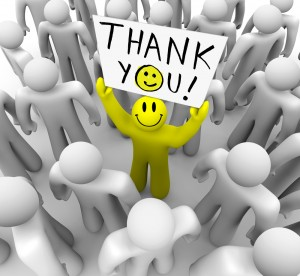 "To Say ""Thank You"" is to Express Gratitude"