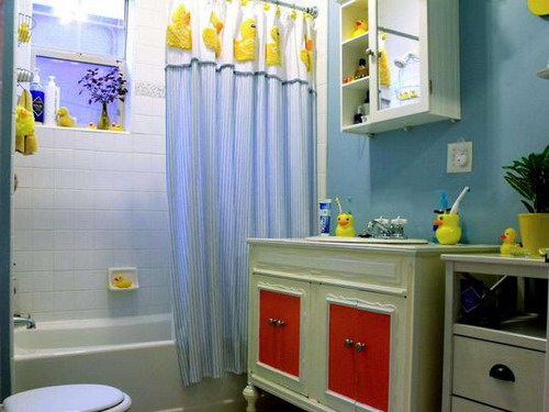 Duck-themed-bathroom-decorating-design