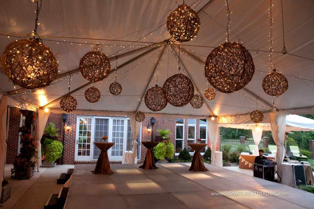 Shabby chic outdoor party decorating ideas for Backyard party decoration ideas