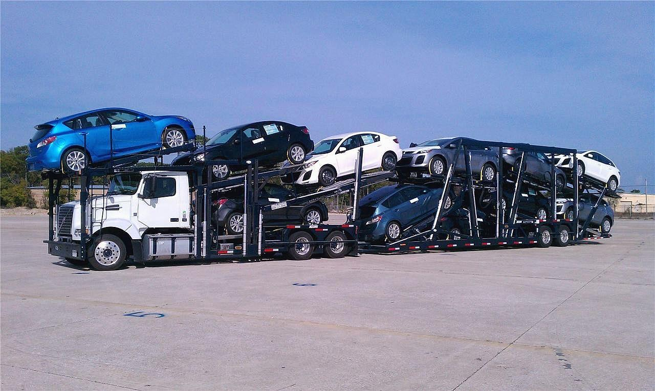 Car Carrier Truck And Trailer For Sale
