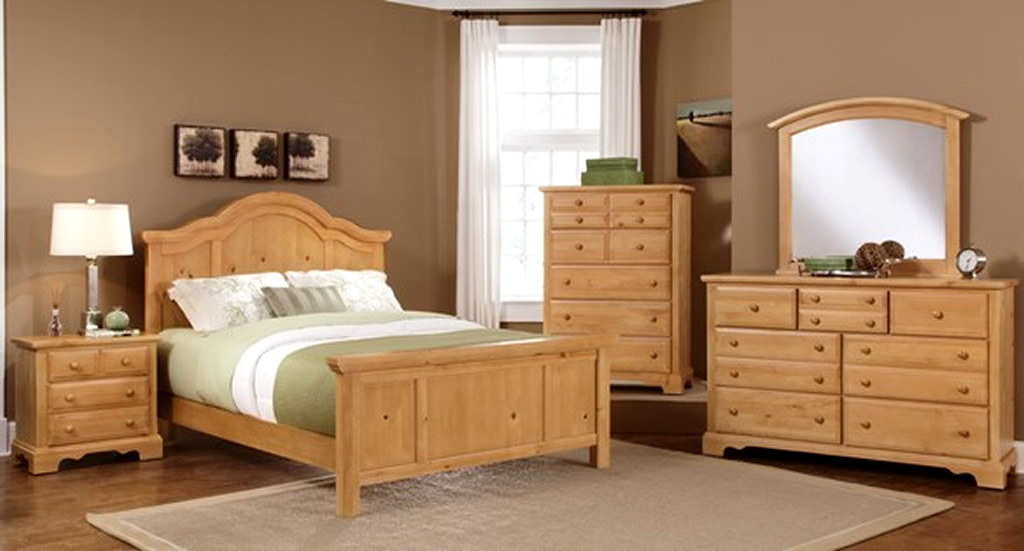 Awesome Wood Bedroom Sets Set