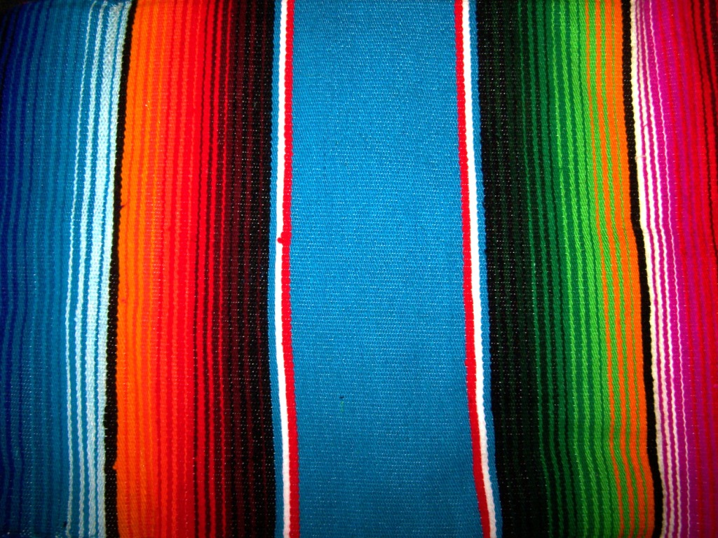 Decorate the Interior with Mexican Blankets Mexican Blanket Texture