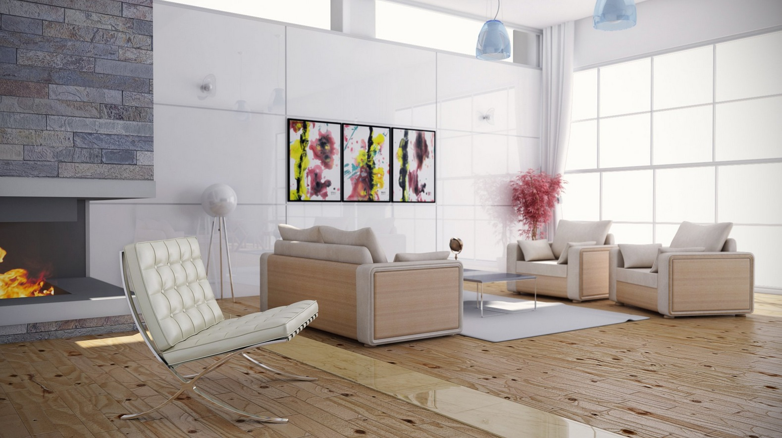 Bright Colors living room