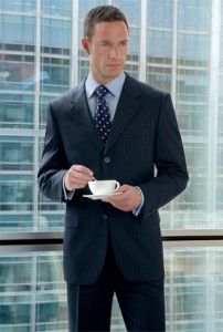 Stylish Man in Corporate Wear