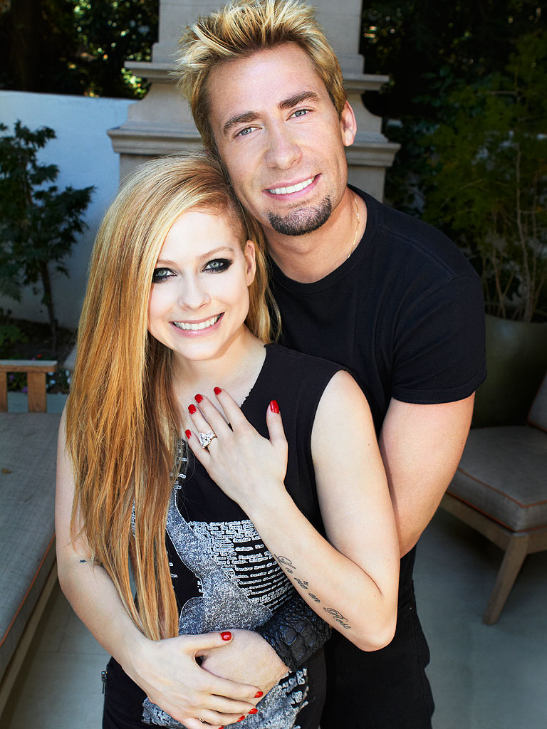 He Was a Boy, She Was a Girl: Avril Lavigne and Chad Kroeger's Big Fat Goth Wedding