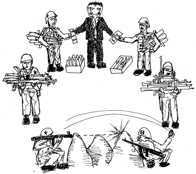 Arms Industry circle