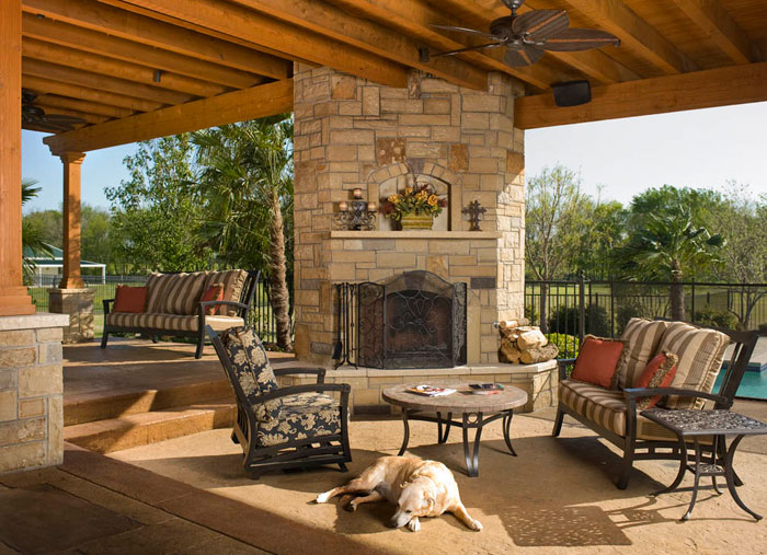 How to design a successful outdoor living space Outdoor living areas images