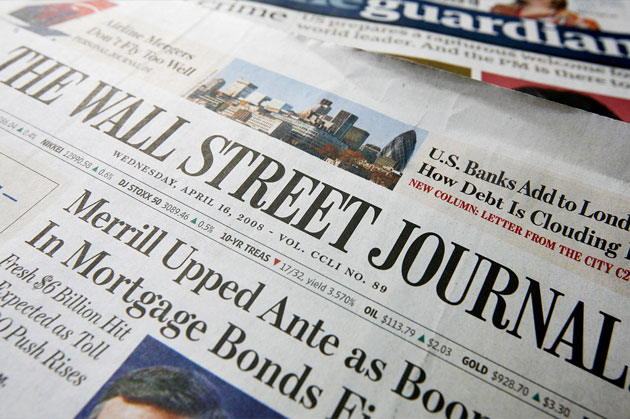 A History of the Dow Jones Company and Wall Street Journal