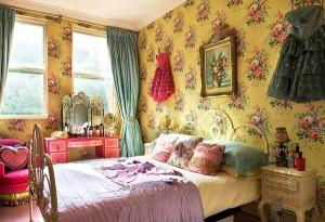 BoHo chic style bedroom