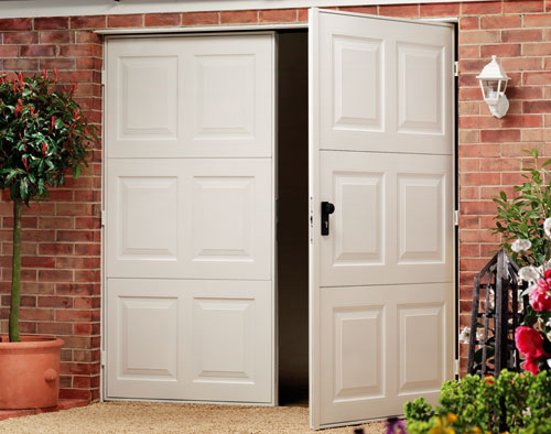 Types of garage doors for Garage side entry door