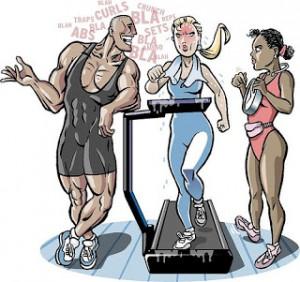 Common Gym Etiquette Offenders