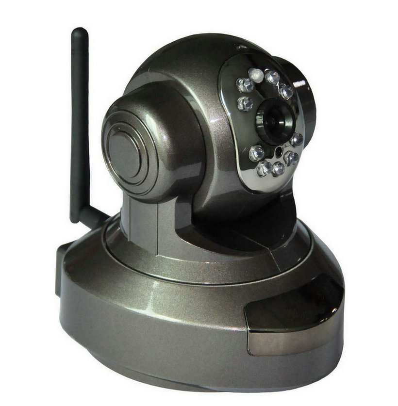 Interior home security cameras