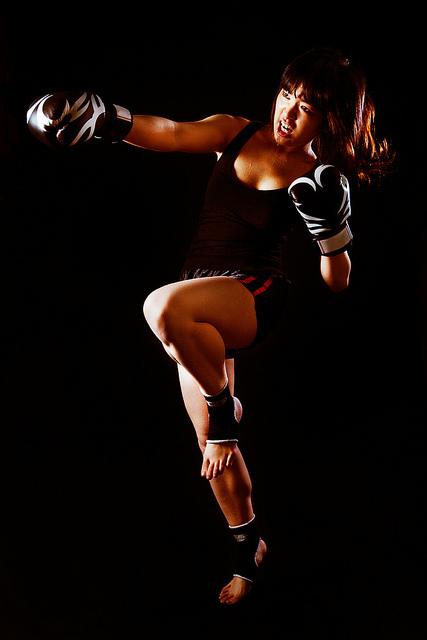 Over Foreign Women Muay Thai 35