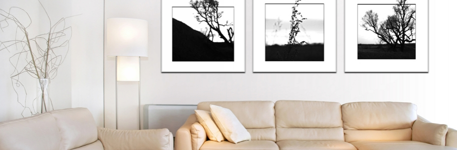 Black-White-Art-Room