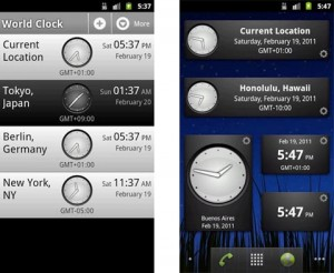 Perfect World Clock app