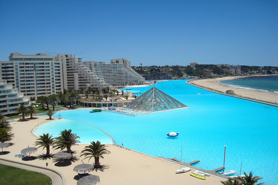 Most fabulous swimming pools in the world for World s largest swimming pool depth