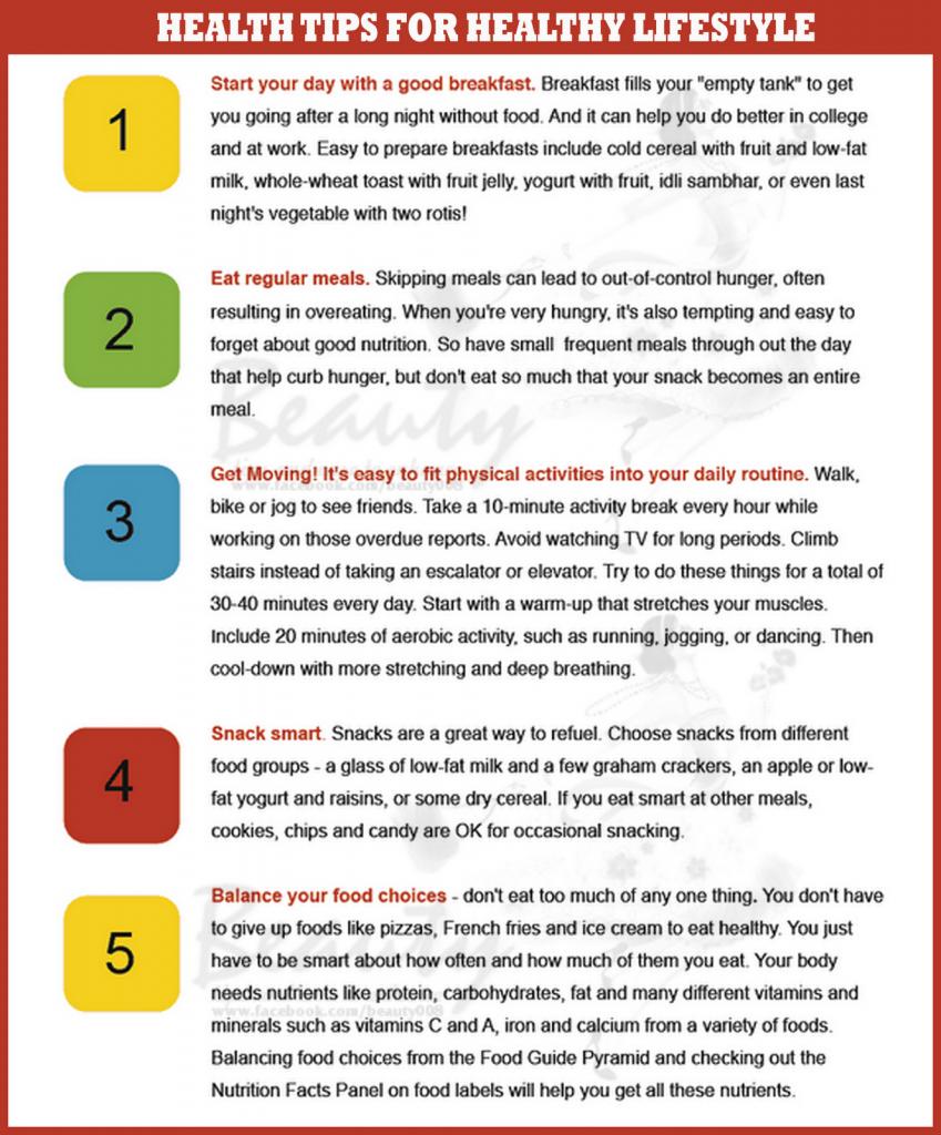 Quick Health Tips