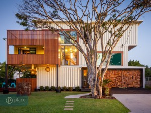 Shipping container home image