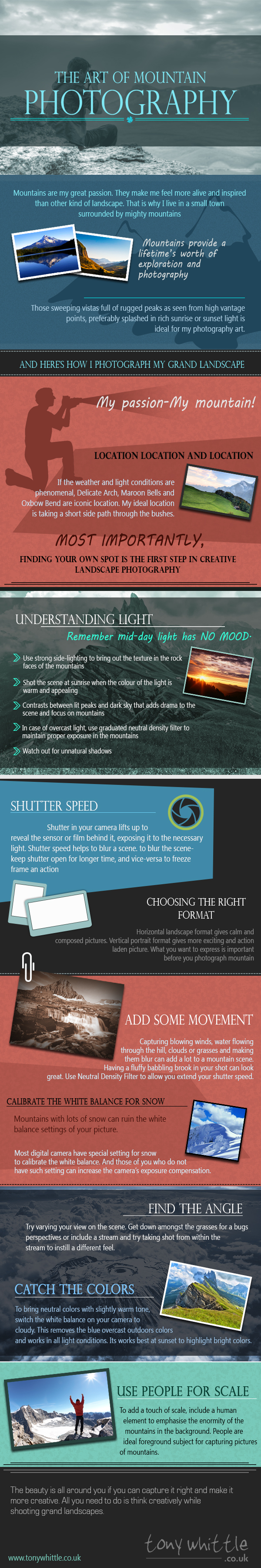 The Art of Mountain Photography_tonywhittle_Infographic_2nd july,2014
