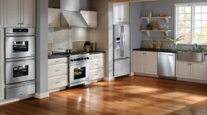 kitchen with all the appliances