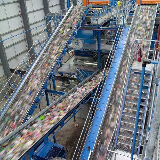 plastics-sorting-facility