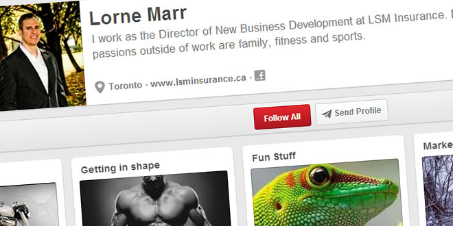 Lorne Marr's Pinterest Profile