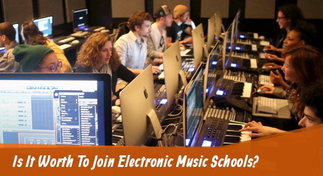 Electronic Music Schools?