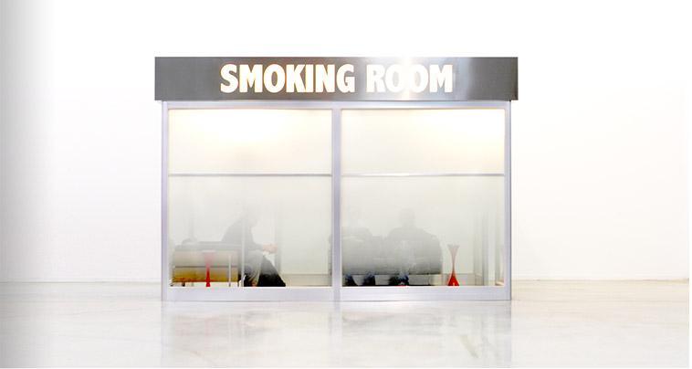 smoking-room