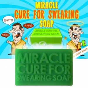 Miracle cure for swearing soap