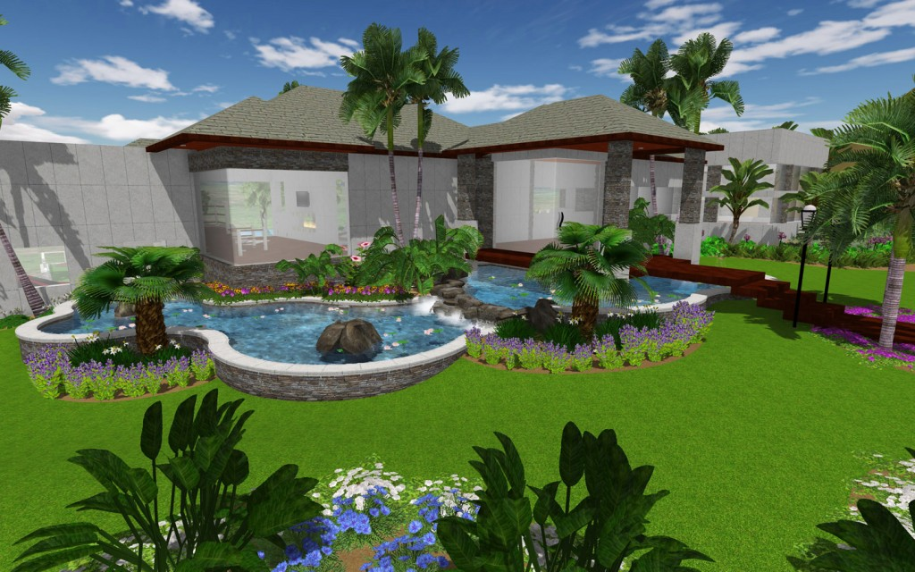 Increasing Use Of 3D Architecture In Landscape Designing