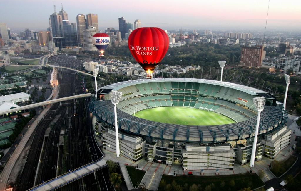 Melbourne cricket ground in Australia
