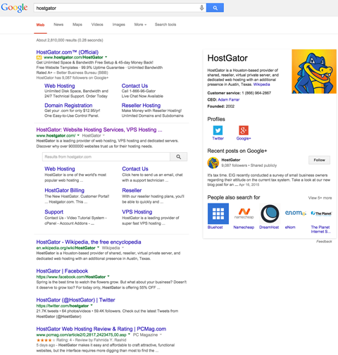 Combat Negative Results on Search Engines