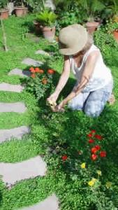 woman_gardening