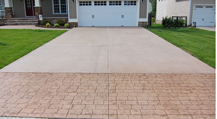 Proper way to seal your concrete driveway for Temperature to pour concrete driveway