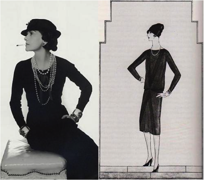 Coco-Chanel and LBD
