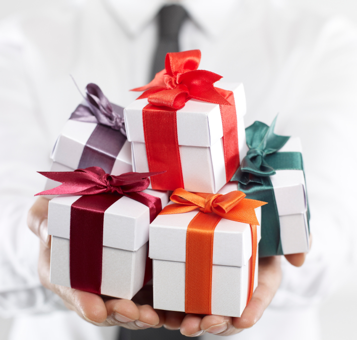 Think about the real value of giving gifts gift when you decide to give some presents negle Choice Image