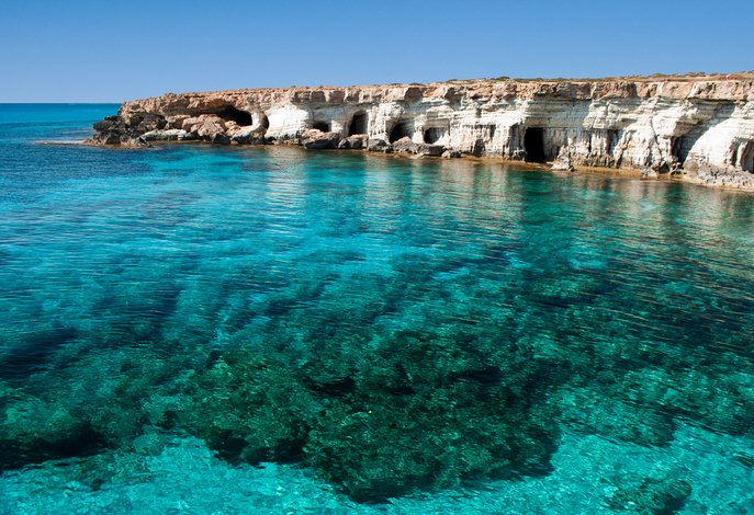 Cape Greco Caves, Cyprus