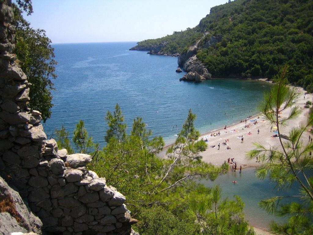 Cirali Olympus Beach, Turkey