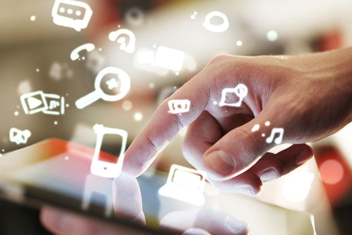 communicate via net