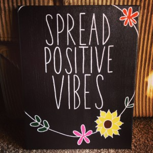 Spread Optimistic Vibes