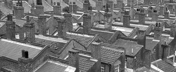 Chemney sweep roof