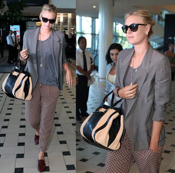 Maria Sharapova handbags